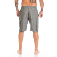 Cargo Shorts Plain grau XL