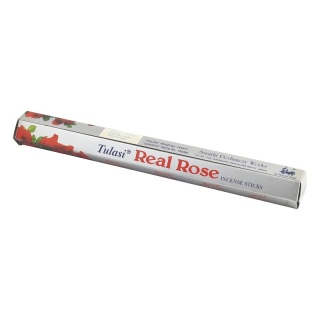 Tulasi Real Rose Incense Sticks - Räucherstäbchen 20g