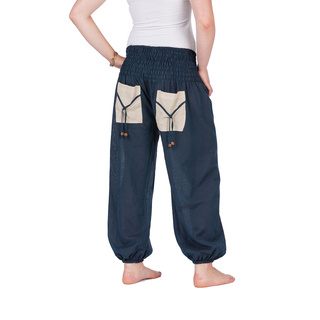 Sommerliche Jogger Hose petrol M/L